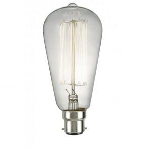 Forum LightingLampe à filament Vintage Inlight ST64 40w B22