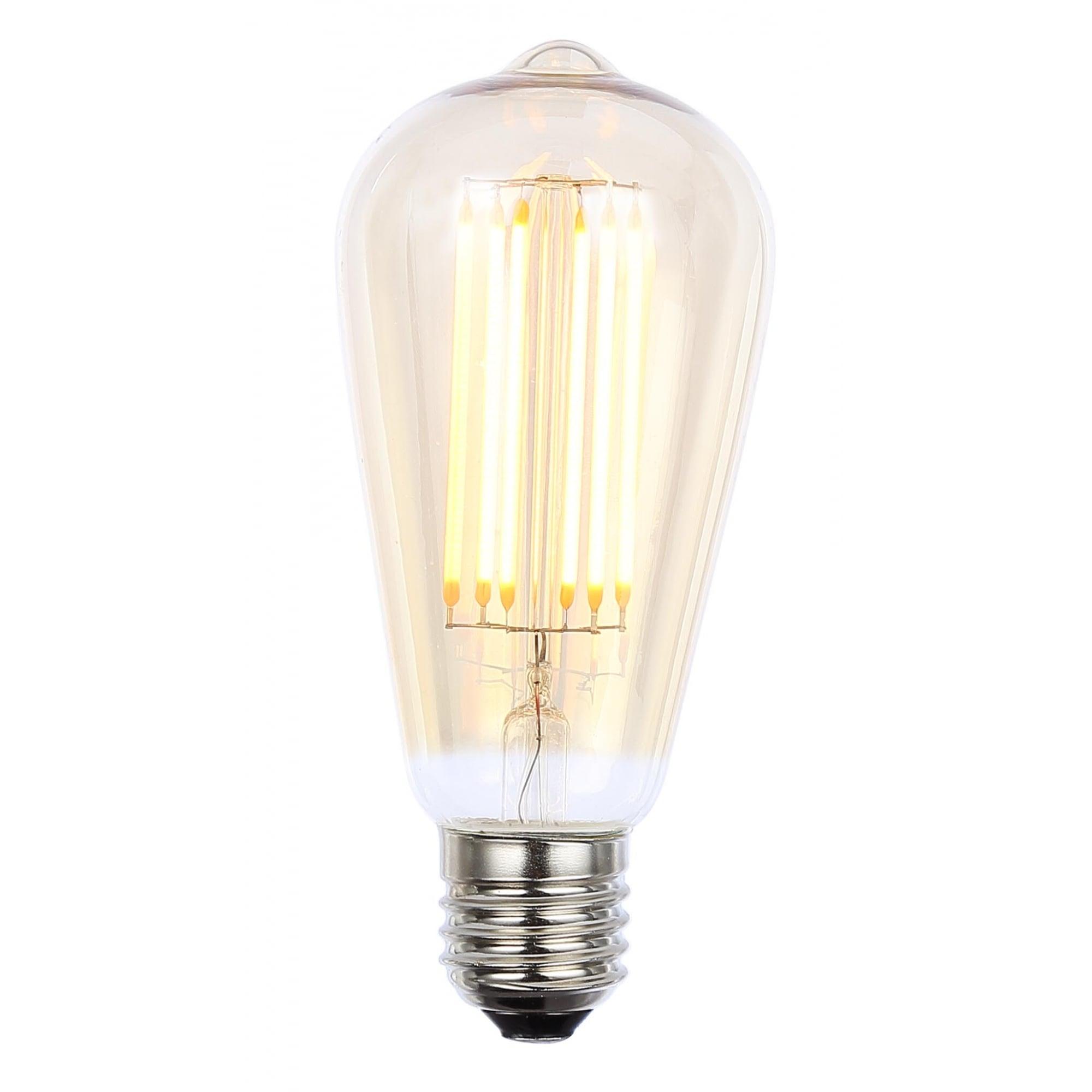 Forum Lighting Lampe à filament Vintage Inlight LED Dimmable 6w ES teintée